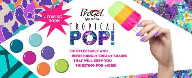 Coming soon. Progel Tropical Pop