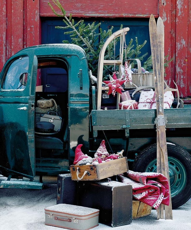 70 best trucks and trees images on Pinterest | Christmas things ...