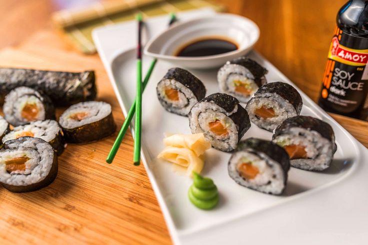 Maki sushi tekercs recept