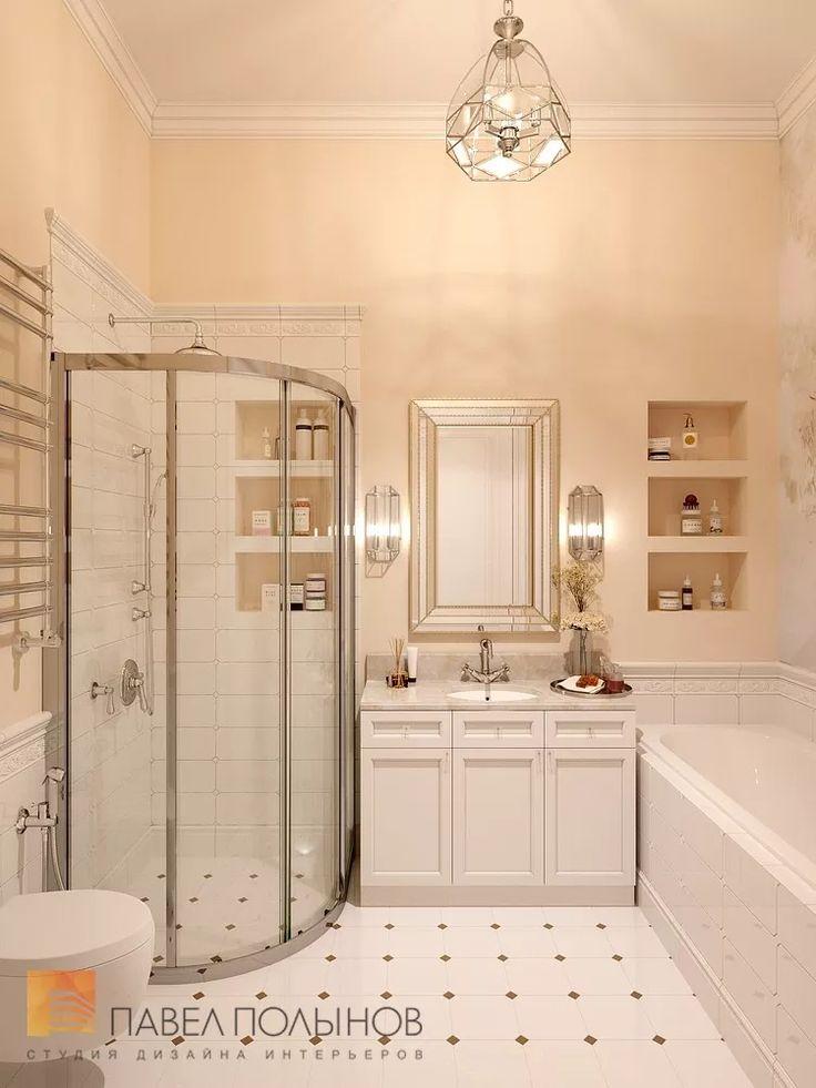 Фото дизайн интерьера ванной комнаты для детей из проекта «Дизайн квартиры 151 кв.м. в клубном доме «DEL' ARTE», современная классика»