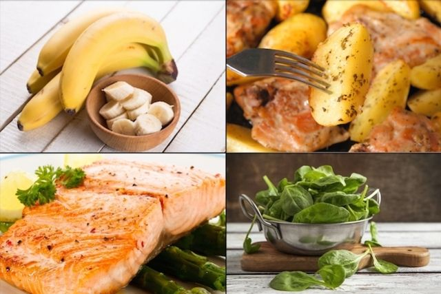 A vitamina B6, também chamada de piridoxina, pode ser encontrada em alimentos como salmão, batata, espinafre, frango e banana. Veja quanto consumir.