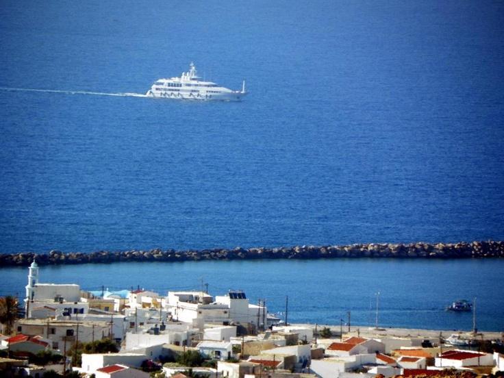 KASOS Island arriving