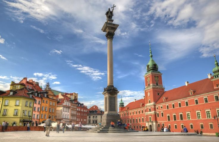 Het Koninklijk Paleis - Warschau Polen