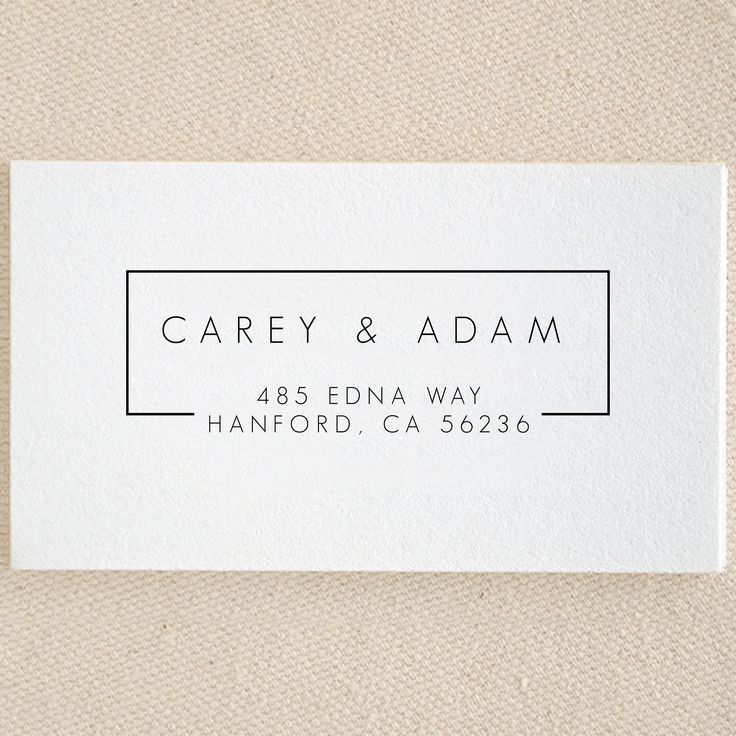 Return Address Stamp Personalized Custom Names Wedding Name Gift Card Handle Mounted Rubber Stamp Pre-inked Stamp Self inking Stamp RE930 by Cre8tiveRubberStamp on Etsy https://www.etsy.com/listing/524059656/return-address-stamp-personalized-custom
