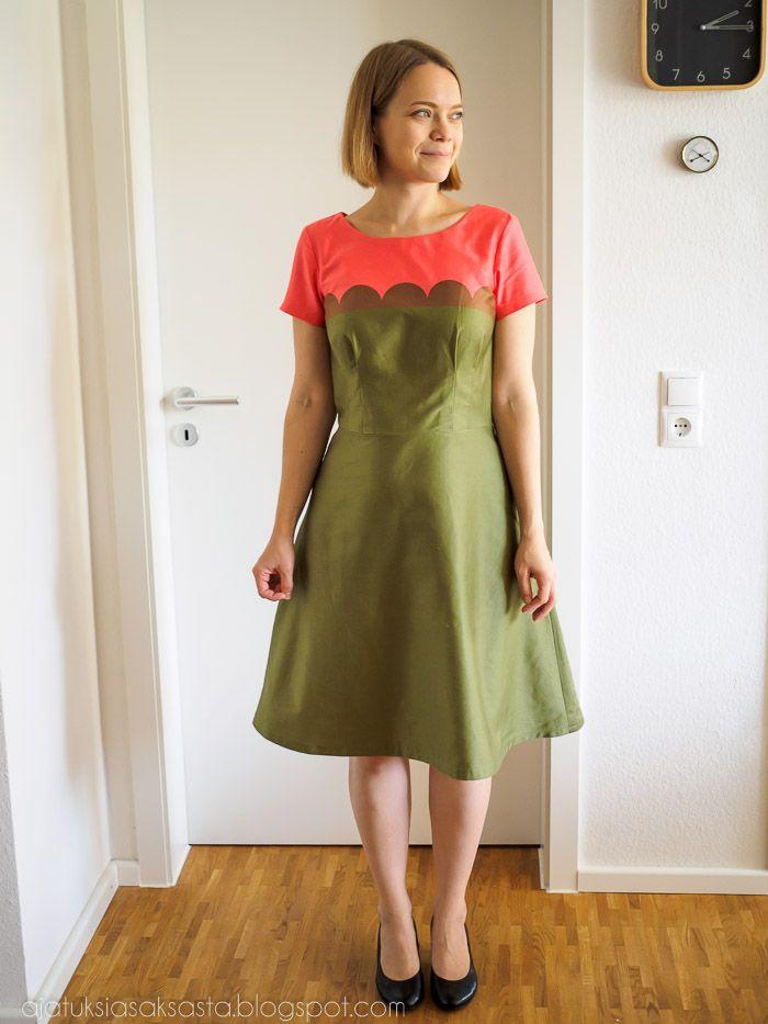 The Laneway Dress, pattern by Jennifer Lauren Handmade