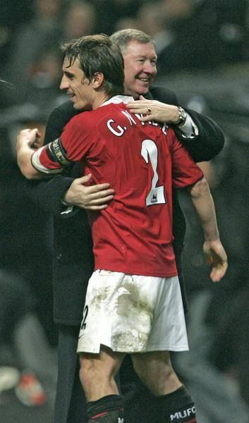 Sir Alex Ferguson & Gary Neville, Manchester United