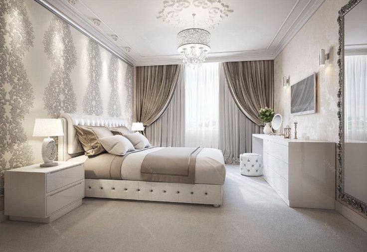 Prachtige Schlafzimmer Inspiration In Den Farben Silber 2019