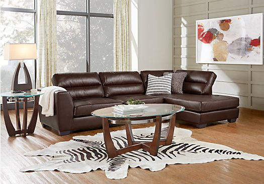 Picture Of Congress Street Brown 2 Pc Sectional From Living Room Sets Furniture Bro 39 S Home