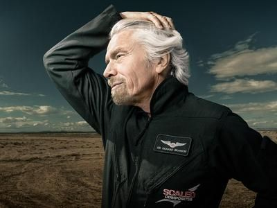 Billionaire Rebel: Be like Richard Branson. The dream-driven entrepreneur of Virgin.