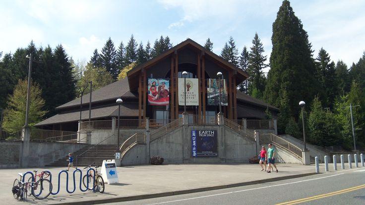 Southwest Portland Park - The World Forestry Center at Washington Park