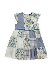 Floral Patchwork Dress