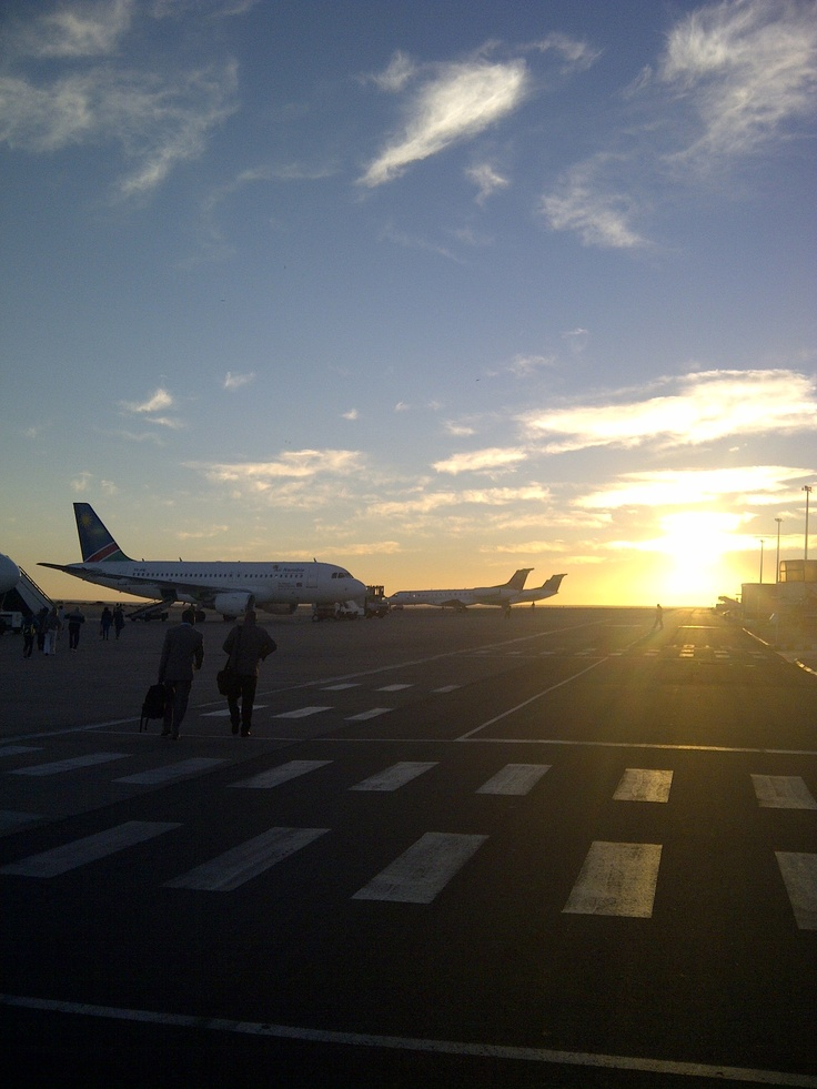 Hosea Kutako International Airport is the main international airport serving the Namibian capital city of Windhoek. #sbmovingforward