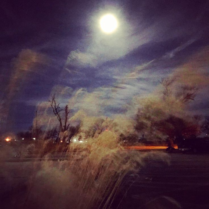 Super Blue Blood Moon.  Taken on 1/31/18 in Pittsburg, Kansas.  #Moon #superbluebloodmoon #beautifulmornimg #beautifulday #morningsky #trees #Wheat #Wednesday #January #Pittsburg #Kansas