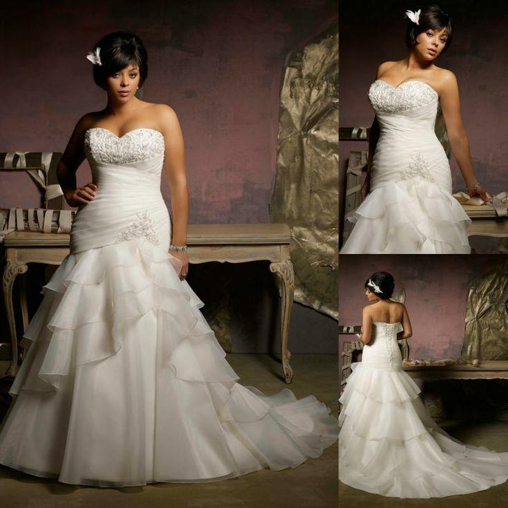 142 Best Plus Size Wedding Dresses Images On Pinterest Gown