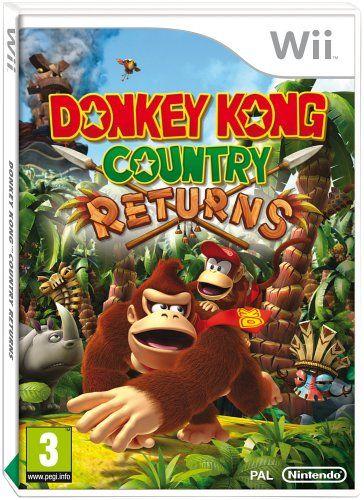 Donkey Kong Country Returns (Wii) Nintendo