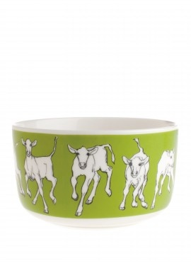 Oiva / Iltavilli bowl  by Sami Ruotsalainen  Pattern:Iltavilli & Miina Äkkijyrkkä  #porcelain