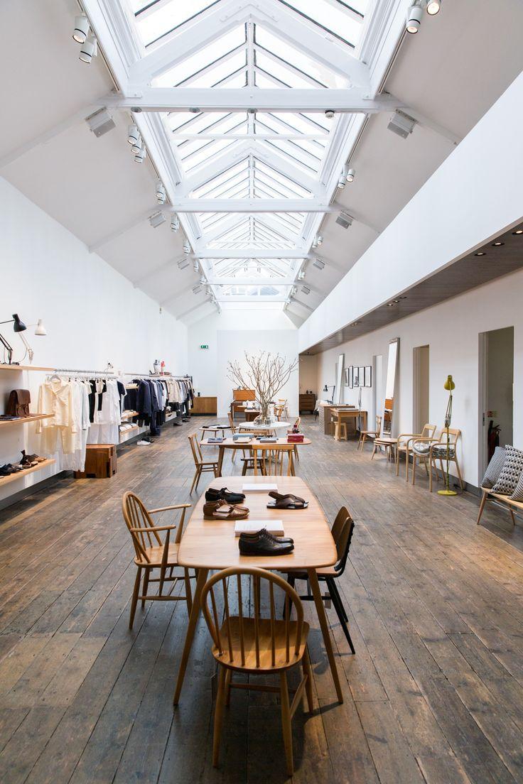 Shopping In London // Margaret Howell // 70percentpure.be