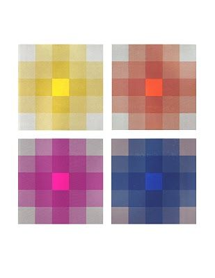 From 'Itten: Elements of colour' Contrast of saturation
