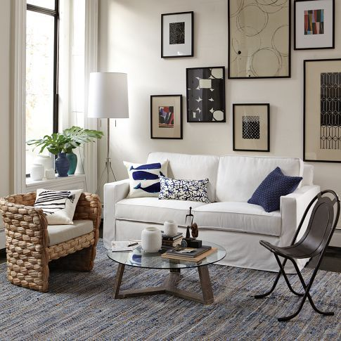 Same rug.  Cool, soothing color scheme and easy to pull together.