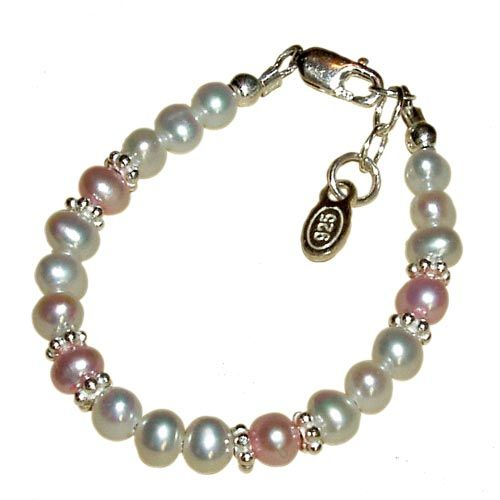 Bracelet with white and pink freshwater pearls and sterling silver daisies Cherished Moments products are all made of the finest quality materials such as .925 genuine sterling silver, lead-free crystals, semi-precious stones, and freshwater pearls. Babies 0 – 12 months Handmade in the USA Warning: This jewellery could be a choking hazard. Children under 3 […]