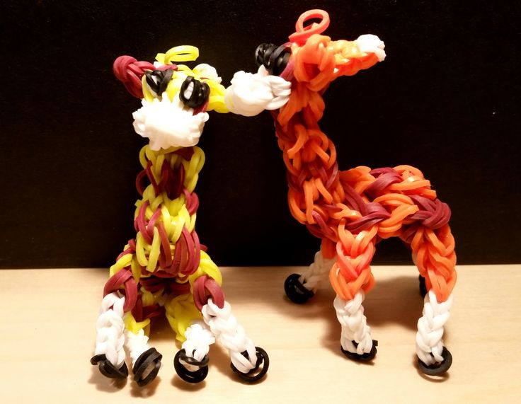 Loom Bandz Anleitung Giraffe