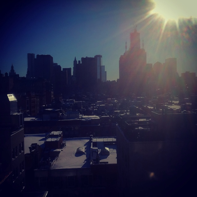 New York from our windows