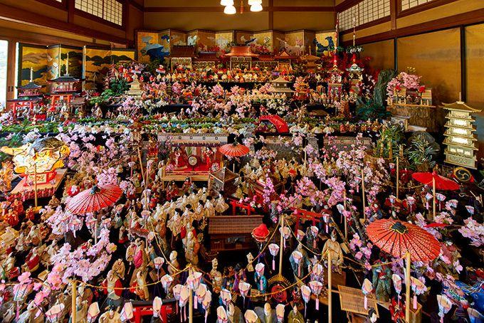 目黒雅叙園「百段雛まつり」を開催 - 九州7県から1,000点以上の雛人形が百段階段に大集結 | ファッションプレス