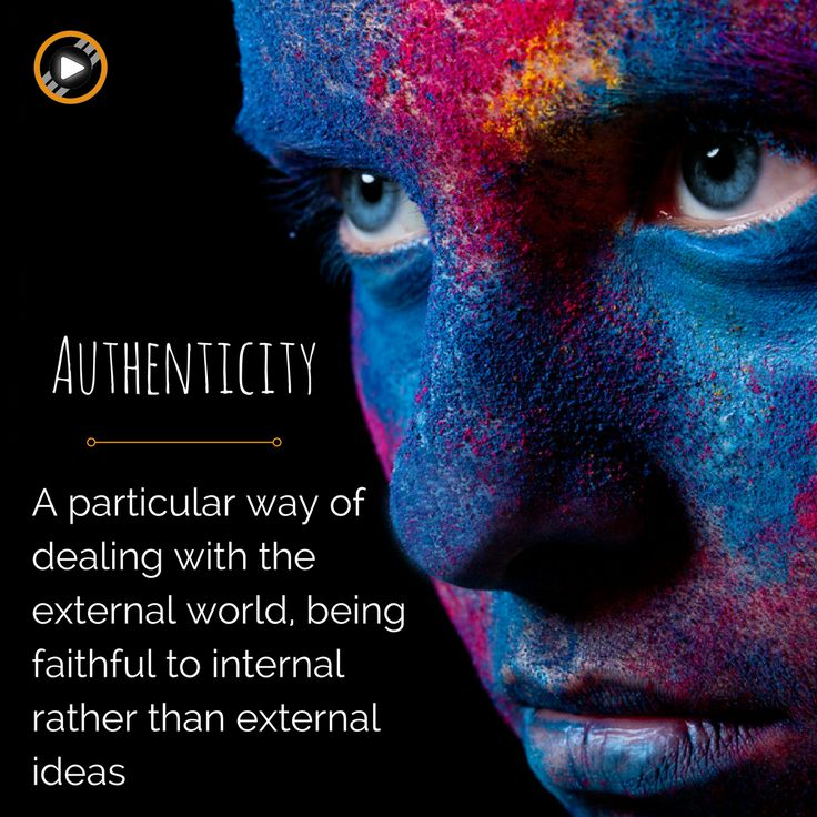 Did you implement #corevalues in your #business? One of ours is Authenticity! Do you know what it's mean?