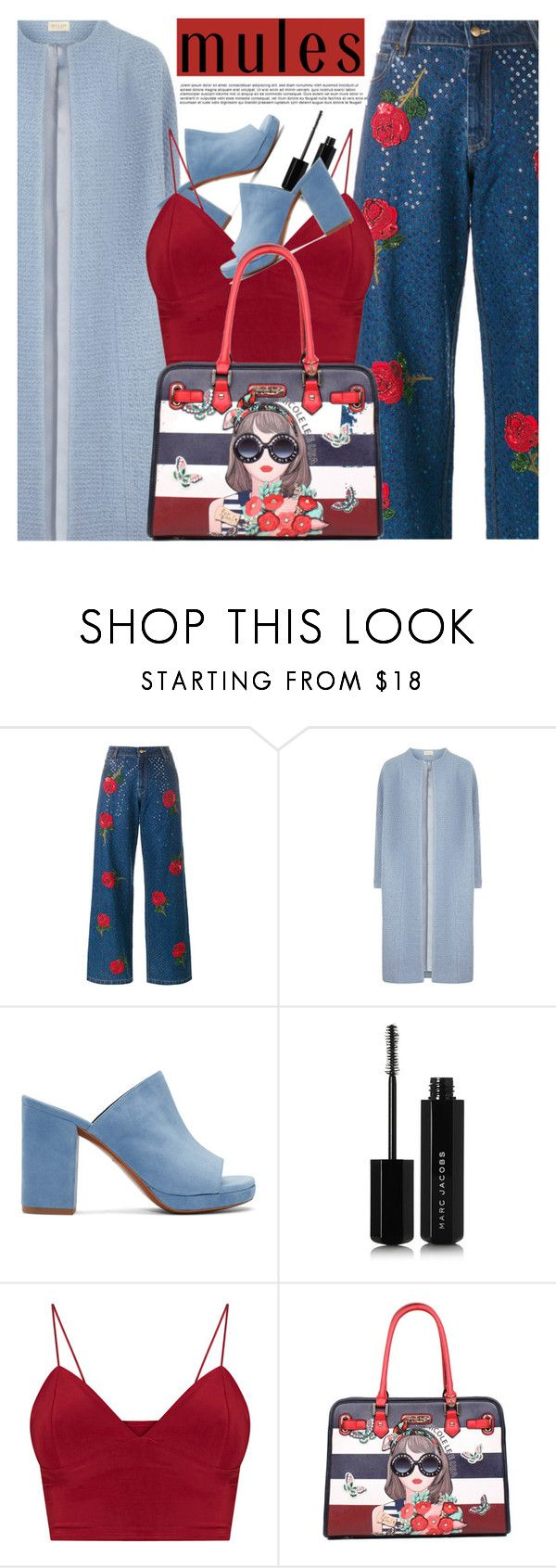 """""""mules"""" by ghdesigns-official ❤ liked on Polyvore featuring Ashish, Robert Clergerie, Marc Jacobs and mules"""