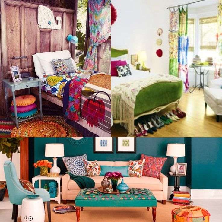 indiebohemian bedroom ideas boho chic home decor 25 bohemian interior decorating ideas - Bohemian Design Ideas