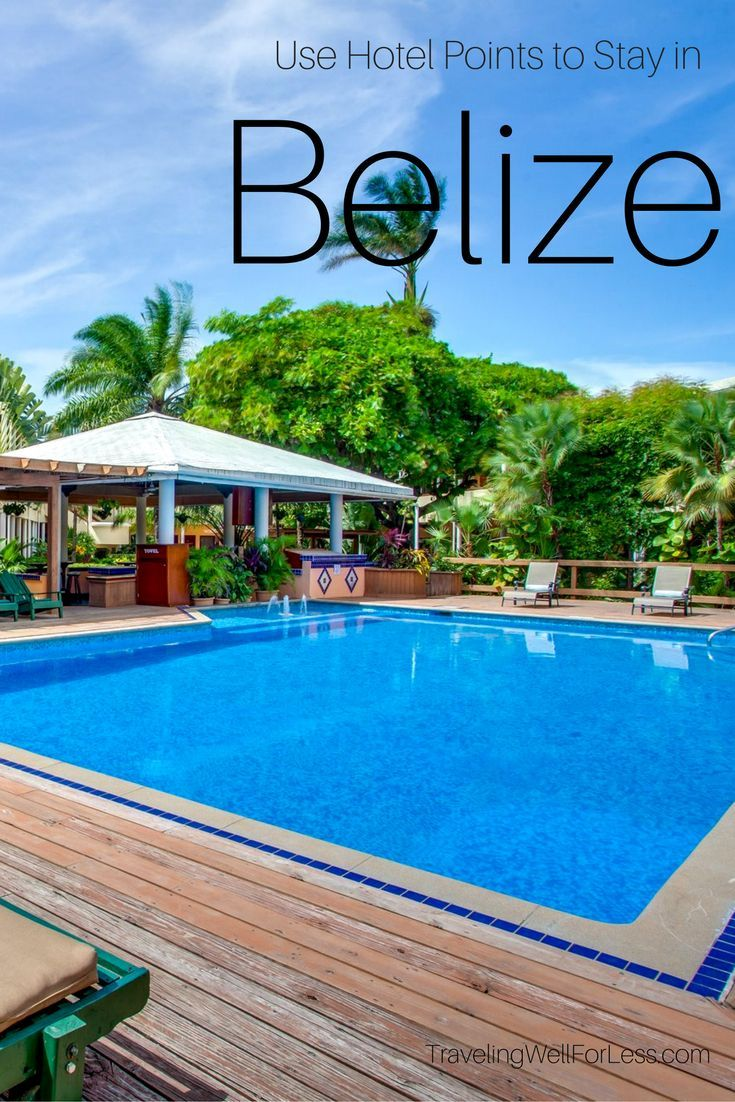 Using hotel points help you save money on travel. You can save money when you visit Belize. There are hotels in Belize to stay on points. http://www.travelingwellforless.com