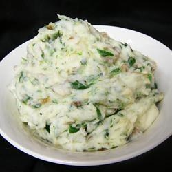 Sally's Spinach Mashed Potatoes Allrecipes.com