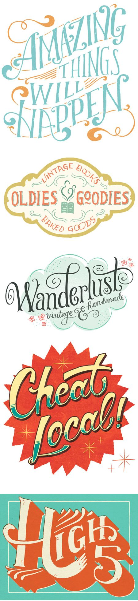 via The Jealous Curator: Mary Kate McDevitt hand-lettering. So lovely!