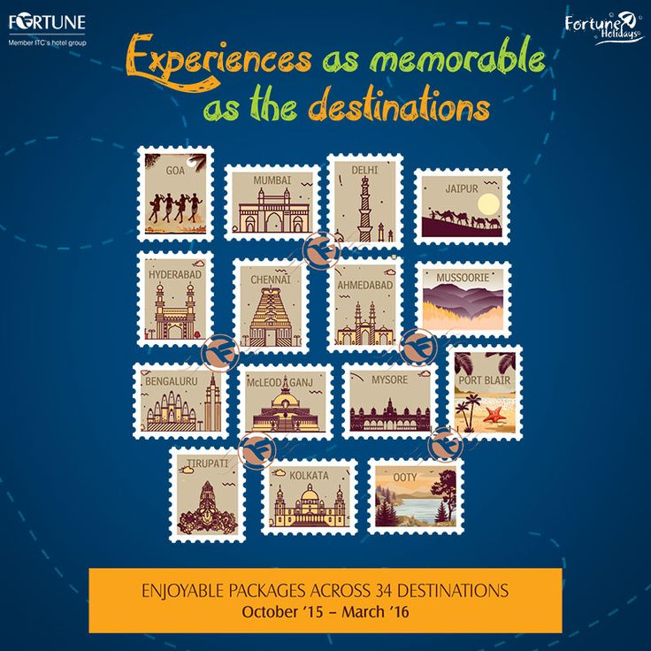 Choose memorable destinations for amazing experiences with Fortune Holidays Winter Packages. Visit: http://goo.gl/j6d8IB