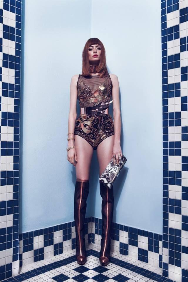 Foto por Jaime Arrau Maquillaje por Vero Monaco Modelo: Ana Paula Rondan Revista: Report
