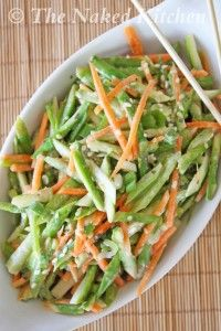 asparagus slaw with sesame dressing -- want to make