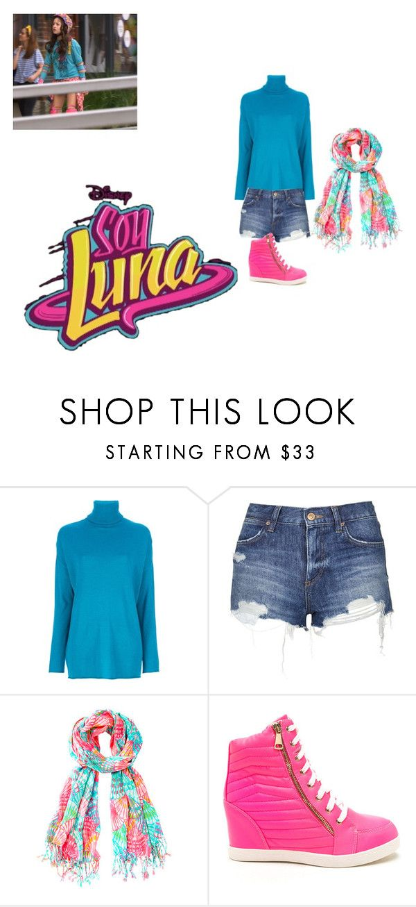 """Soy Luna"" by julia-clv ❤ liked on Polyvore featuring P.A.R.O.S.H. and Topshop"