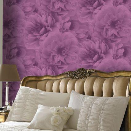 Kalika Plum Wallpaper BQ