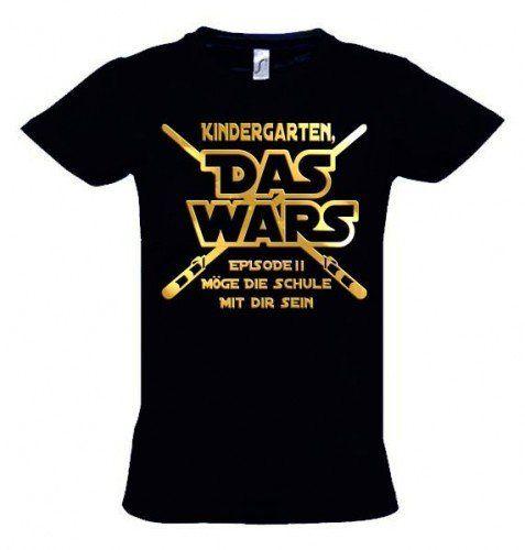 Sale Preis: KINDERGARTEN DAS WARS Episode 2 – T-Shirt zur Einschulung Schulanfan…