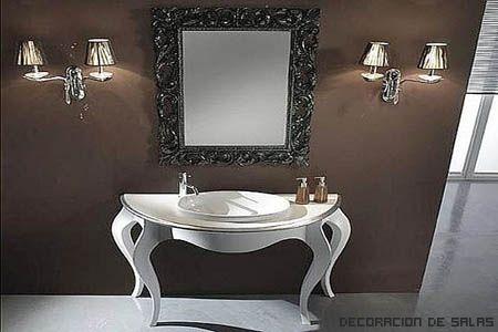 17 best images about ba o on pinterest toilets antigua - Muebles de bano clasicos ...