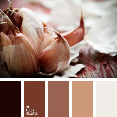 This monochrome brown color palette is well suited to design lofts and large rooms with high ceilings.