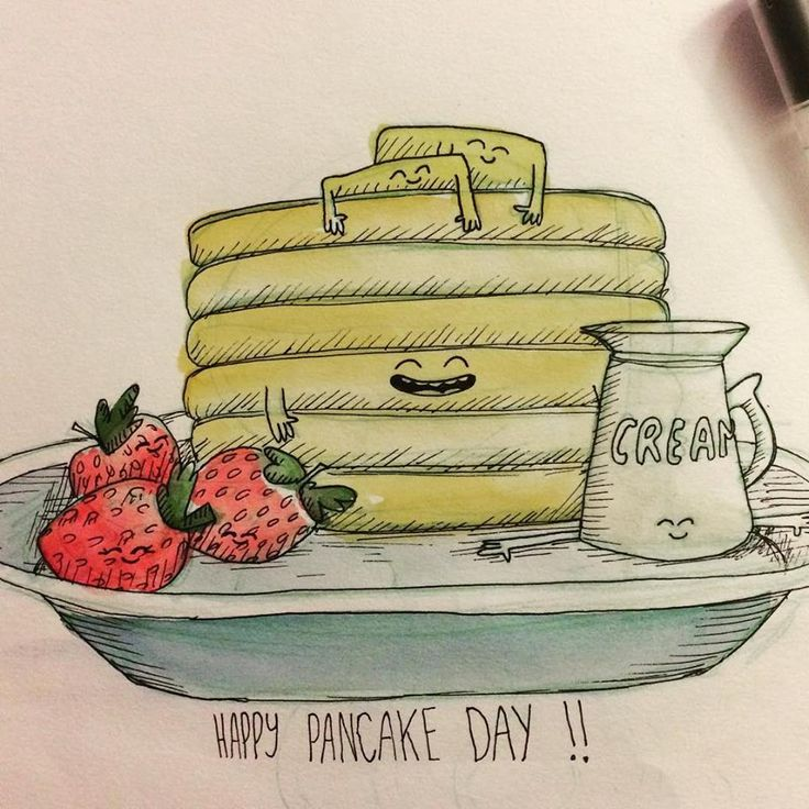 Happy Pancake day!!! :D