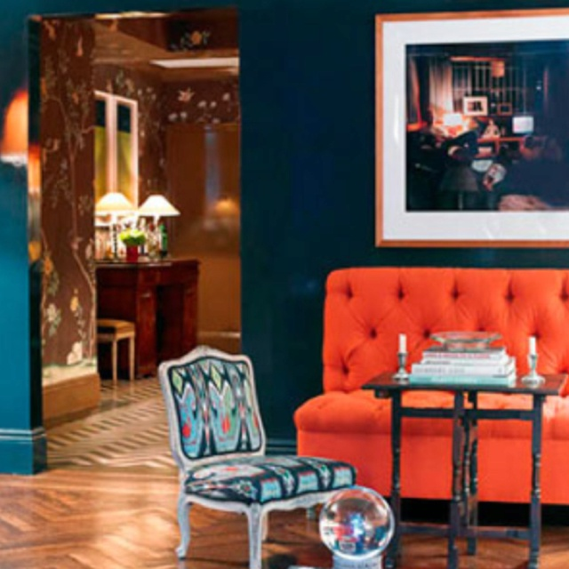 Gallery For Teal And Orange Room