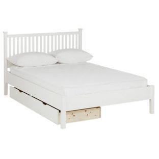 Buy Adalia Small Double Bed Frame - White at Argos.co.uk - Your Online Shop for Bed frames.