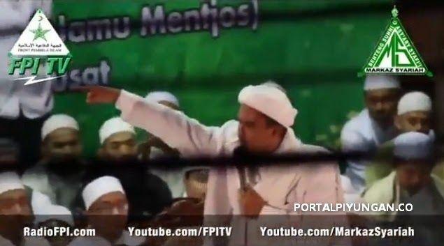 Peringatan Keras Habib Rizieq Pilgub DKI: Pendukung Cagub Muslim Gak Boleh Saling Serang! AWAS Adu Domba Musuh Islam!