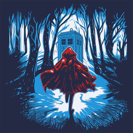 Little Red Riding Hood Tardis Doctor Who