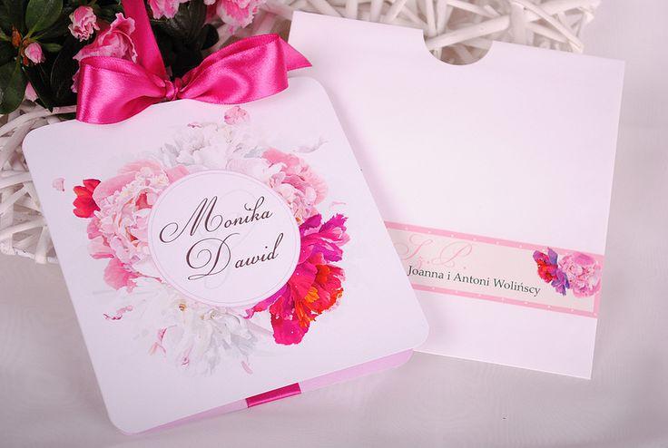 Fontanessi - Wesele na głowie: Zaproszenia Ślubne - Kolekcja Piwonie #piwonia #piwonie #zaproszeniaslubne #zaproszenianaslub #zaproszeniapiwonie #zaproszenia
