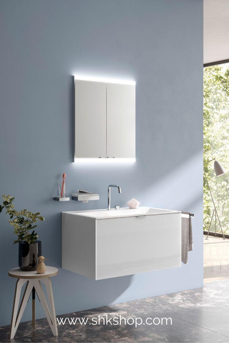 Emco Asis Evo Lichtspiegelschrank Unterputzmodell 2 T Ren 600 Mm In 2020 Badezimmer Inspiration Spiegelschrank Badezimmer Mobel