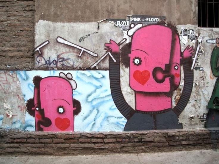 Sweet Chilean art!! :)