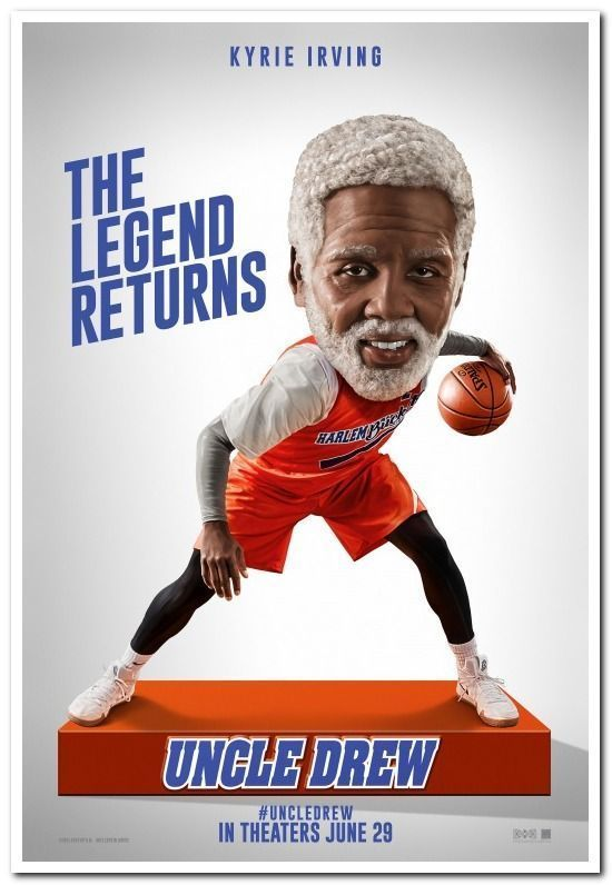 560c3eb2917 ... Charles Stone III. UNCLE DREW - 2018 - original 27x40 D S Movie Poster  - Advance of KYRIE IRVING
